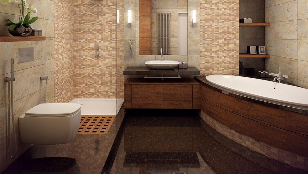Salle de bain en bois-quelles essences privilégier-LeShowRoom974