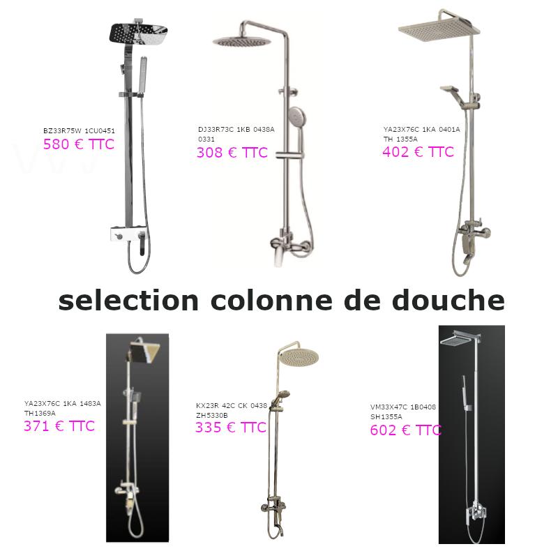SELECTION COLONNE DE DOUCHE2